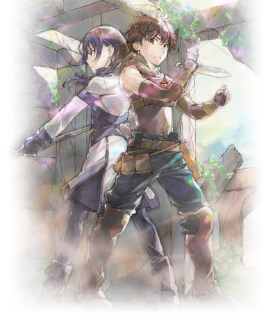boots brunette dagger gloves hai_to_gensou_no_grimgar hal mary purple_hair staff // 1280x1464 // 488.2KB
