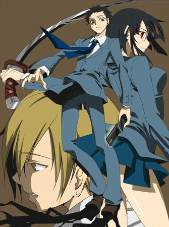 cellphone composite durarara group katana sonohara_anri sword // 745x1000 // 554.9KB