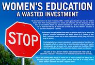 education misogynist redpill sign stop // 1453x1000 // 412.5KB