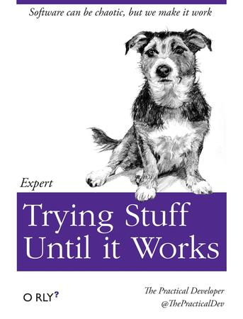 cover dog humor mutt oreilly // 1024x1344 // 168.5KB