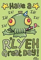 cthulhu greeting_card rlyeh // 654x960 // 64.1KB