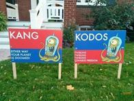 kang kodos political sign the_simpsons // 600x450 // 47.9KB