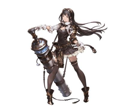boots brunette cannon dress gloves goggles gun long_hair short_skirt thighhighs // 960x800 // 106.1KB