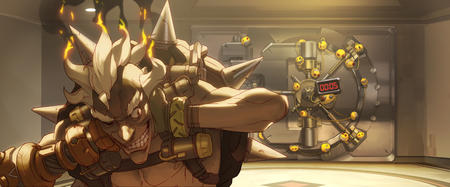 gloves junkrat overwatch safe vault // 6215x2586 // 5.7MB