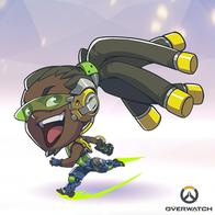 dreadlocks headphones lucio overwatch super_deformed // 400x400 // 167.6KB