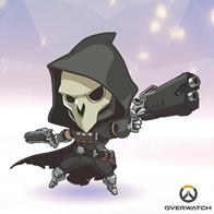 gun hood mask overwatch reaper super_deformed // 400x400 // 150.9KB