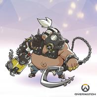 chains gasmask hook overwatch roadhog superdeformed // 400x400 // 190.3KB