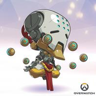 overwatch robot super_deformed zenyatta // 400x400 // 168.4KB