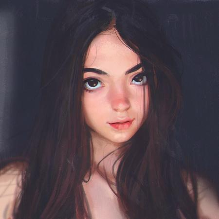 brown_eyes brunette // 900x900 // 1.8MB