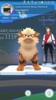 arcanine connell_kane pokemon_go screenshot // 1080x1920 // 737.9KB