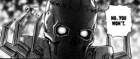 berserk bw manga no reaction skull skull_knight // 1017x433 // 576.4KB