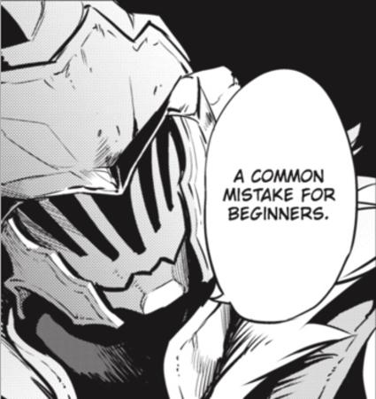 bw goblin_slayer helmet manga mistake reaction // 357x378 // 145.5KB