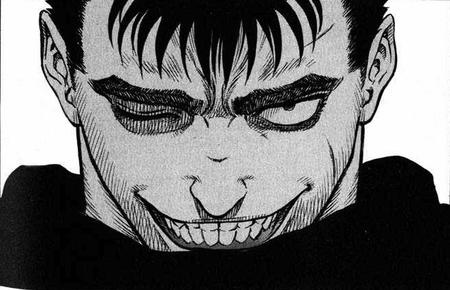 berserk bw guts manga reaction // 654x421 // 105.8KB