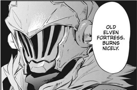 bw fire goblin_slayer manga // 574x378 // 302.8KB