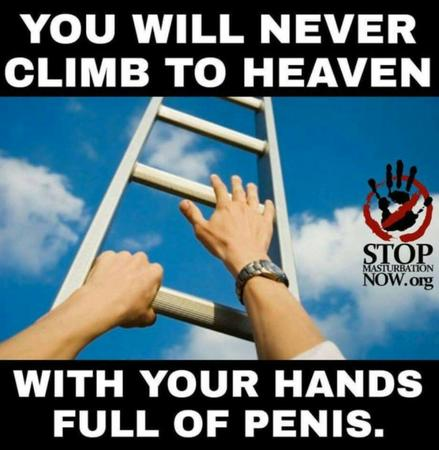 heaven humor ladder masturbation // 920x943 // 80.1KB