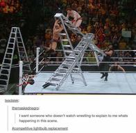 ladder screenshot wwe // 720x702 // 64.3KB