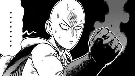 bald bw cape gloves manga one_punch_man reaction saitama sweat // 472x264 // 84.7KB