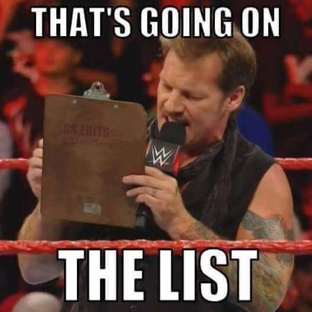 chris_jericho clipboard list macro reaction scarf wwe // 527x527 // 26.0KB