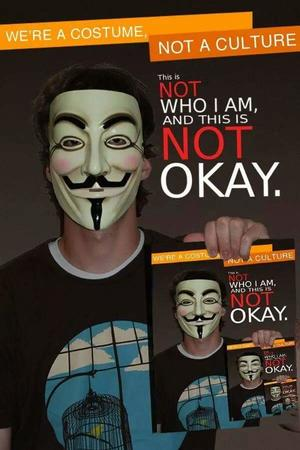 anonymous costume guy_fawkes humor macro // 600x899 // 54.6KB