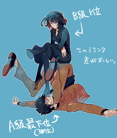 bangs blue_eyes brunette bw dress fubuki high_heels one_punch_man snake // 679x800 // 285.7KB