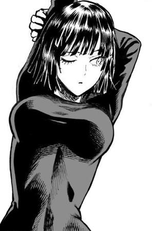 bangs brunette bw dress fubuki one_punch_man oppai // 520x790 // 154.5KB
