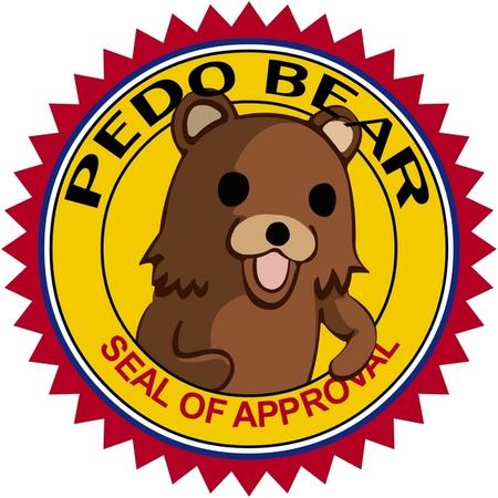 4chan bear pedobear reaction seal // 600x600 // 186.5KB