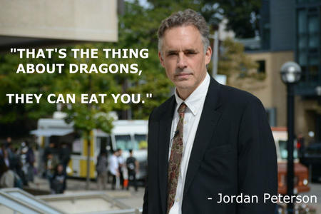 dragon jordan_peterson necktie photo quote suit // 1600x1067 // 203.6KB