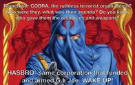cobra cobra_commander gi_joe hasbro terrorism wake_up // 1000x625 // 74.0KB