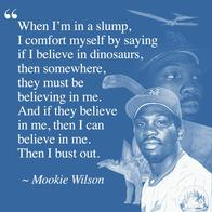 baseball dinosaur mookie_wilson motivational quote // 1080x1080 // 949.5KB