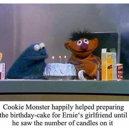 cookie_monster ernie humor sesame_street // 720x720 // 224.5KB