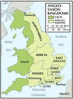 anglo-saxon england map septarchy wales // 328x448 // 33.4KB