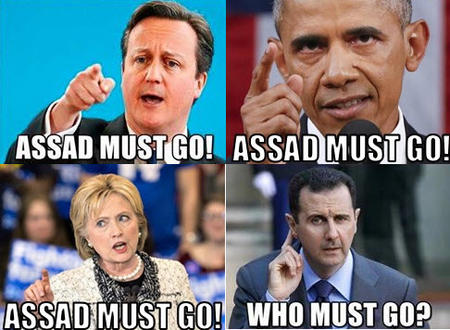 assad cameron clinton composite humor obama syria who_must_go // 486x356 // 58.6KB