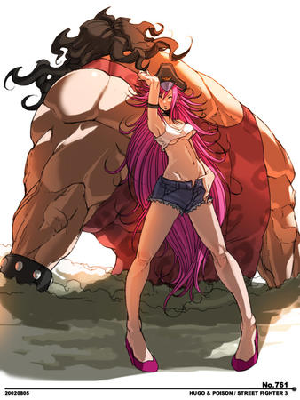 cut-offs poison redhead shorts short_shorts street_fighter // 600x800 // 136.4KB