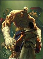 cover ryu sagat street_fighter // 258x351 // 24.6KB