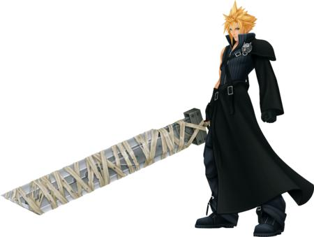 blonde boots cg cloud ffvii final_fantasy high_res kingdom_hearts sword // 3020x2278 // 2.2MB