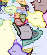 arabia map middle_east // 500x582 // 68.3KB