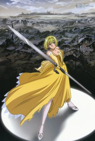 alice blonde gown high_res pumpkin_scissors sword // 2118x3129 // 1.4MB