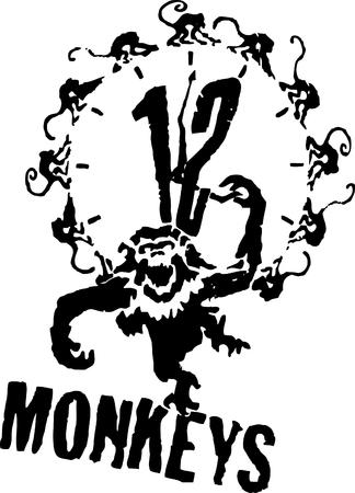 12_monkeys bw logo monkey stencil // 2220x3088 // 241.9KB