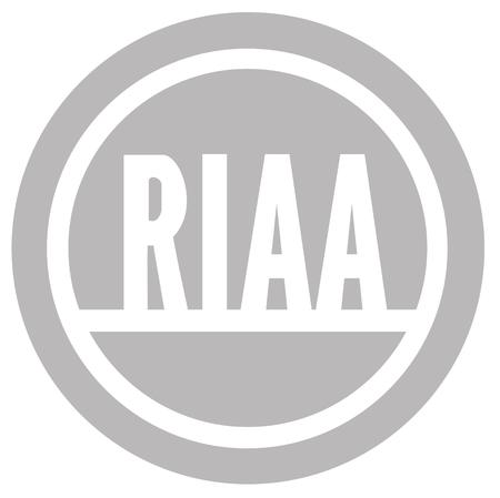 high_res logo monochrome riaa // 4000x3991 // 294.3KB