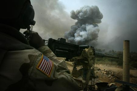 america helmet high_res machinegun photo smoke // 2464x1648 // 367.7KB