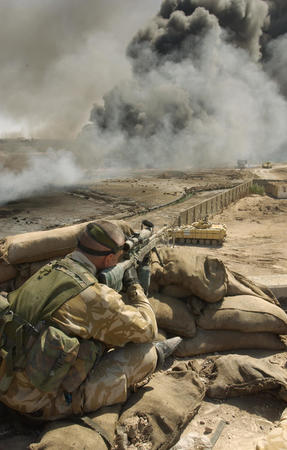 america high_res iraq photo rifle smoke soldier // 1842x2890 // 887.2KB