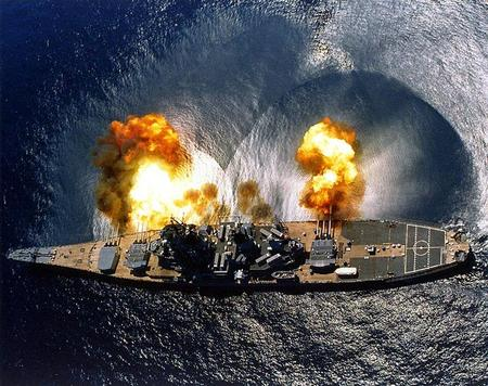 america battleship cannon navy photo shockwave // 740x585 // 151.5KB