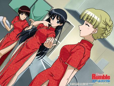 akira alice braids cheongsam long_hair school_rumble tenma // 1024x768 // 172.1KB