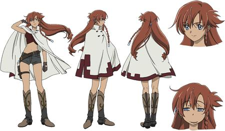 blue_eyes boots el_cazador gloves long_hair nadie poncho redhead shorts short_shorts // 618x361 // 52.7KB