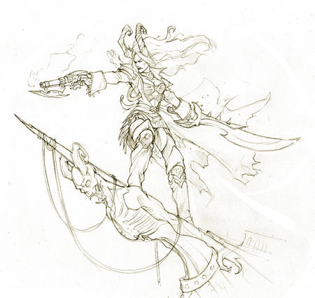 bw eva_widerman gun hordes ik pirate satyxis skarre sword // 627x594 // 322.8KB