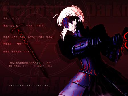 armor blonde dark desktop fate saber sword // 1024x768 // 124.0KB