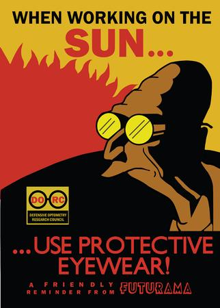 futurama glasses high_res macro sun vector // 3040x4250 // 355.8KB
