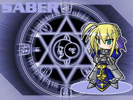 armor blonde desktop fate saber super_deformed sword // 1024x768 // 438.0KB