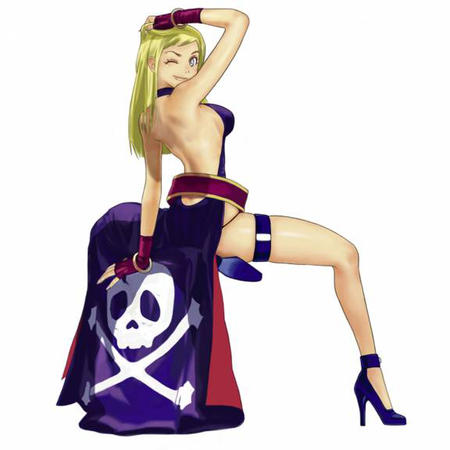 b.jenet blonde dress high_heels long_hair pirate wink // 576x576 // 114.5KB