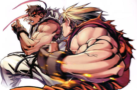 gi headband high_res ken ryu street_fighter // 4834x3197 // 2.8MB